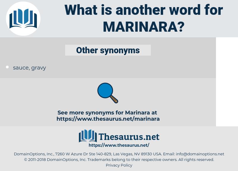 marinara, synonym marinara, another word for marinara, words like marinara, thesaurus marinara