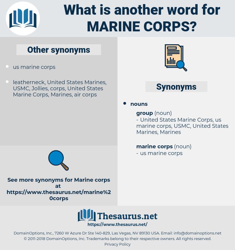 marine corps, synonym marine corps, another word for marine corps, words like marine corps, thesaurus marine corps