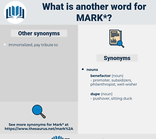 mark, synonym mark, another word for mark, words like mark, thesaurus mark