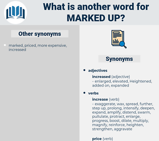 marked-up, synonym marked-up, another word for marked-up, words like marked-up, thesaurus marked-up