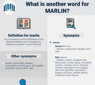marlin, synonym marlin, another word for marlin, words like marlin, thesaurus marlin