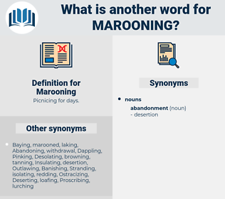 Marooning, synonym Marooning, another word for Marooning, words like Marooning, thesaurus Marooning