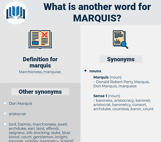 marquis, synonym marquis, another word for marquis, words like marquis, thesaurus marquis
