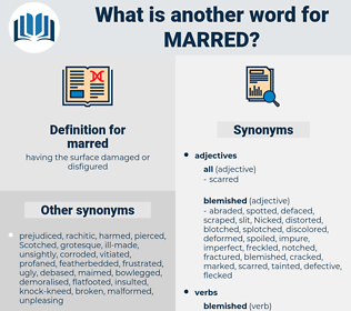 marred, synonym marred, another word for marred, words like marred, thesaurus marred