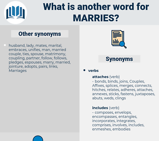 marries, synonym marries, another word for marries, words like marries, thesaurus marries