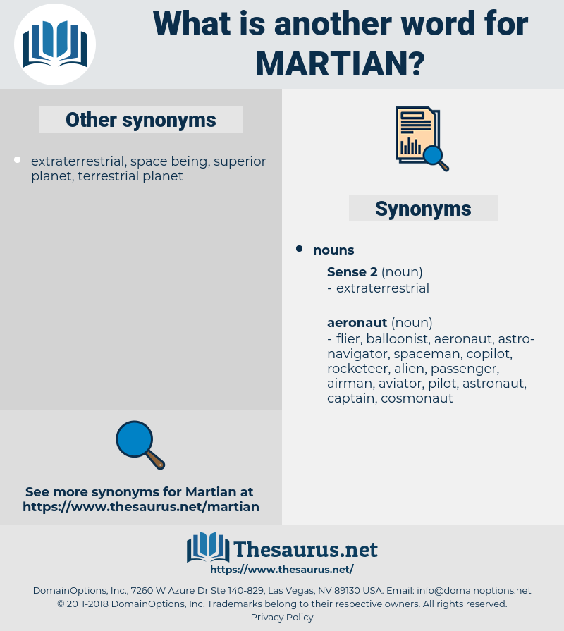 martian, synonym martian, another word for martian, words like martian, thesaurus martian