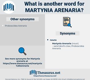 Martynia Arenaria, synonym Martynia Arenaria, another word for Martynia Arenaria, words like Martynia Arenaria, thesaurus Martynia Arenaria