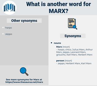 marx, synonym marx, another word for marx, words like marx, thesaurus marx