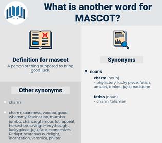 mascot, synonym mascot, another word for mascot, words like mascot, thesaurus mascot