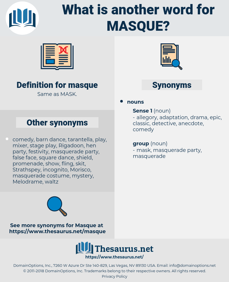 masque, synonym masque, another word for masque, words like masque, thesaurus masque