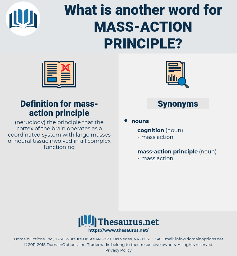 mass-action principle, synonym mass-action principle, another word for mass-action principle, words like mass-action principle, thesaurus mass-action principle