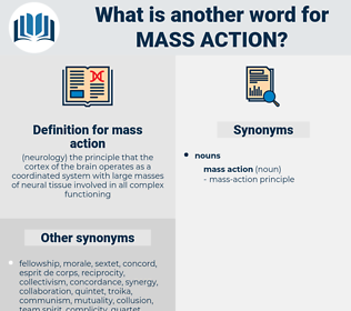 mass action, synonym mass action, another word for mass action, words like mass action, thesaurus mass action
