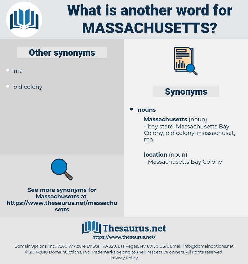 massachusetts, synonym massachusetts, another word for massachusetts, words like massachusetts, thesaurus massachusetts