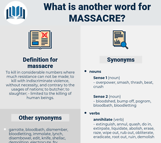massacre, synonym massacre, another word for massacre, words like massacre, thesaurus massacre