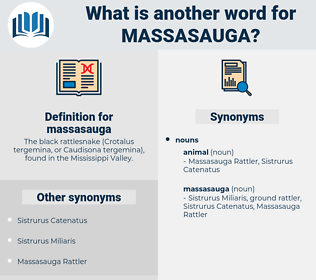 massasauga, synonym massasauga, another word for massasauga, words like massasauga, thesaurus massasauga