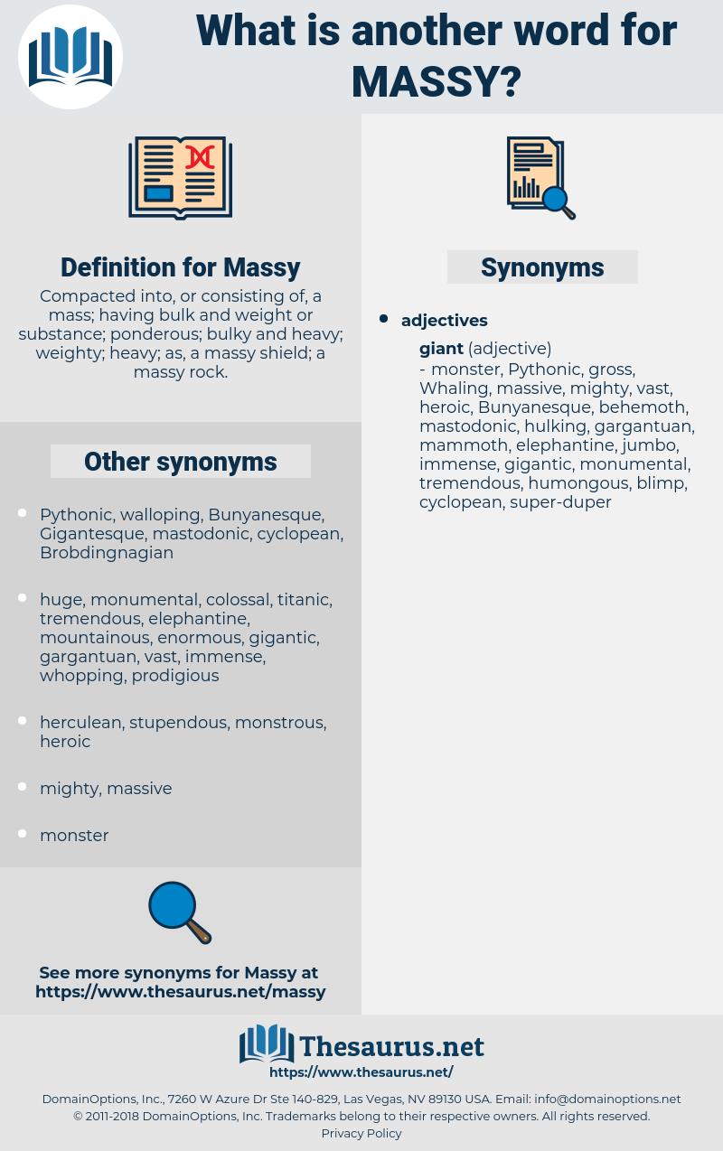 Massy, synonym Massy, another word for Massy, words like Massy, thesaurus Massy