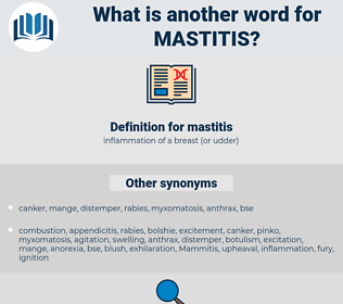 mastitis, synonym mastitis, another word for mastitis, words like mastitis, thesaurus mastitis