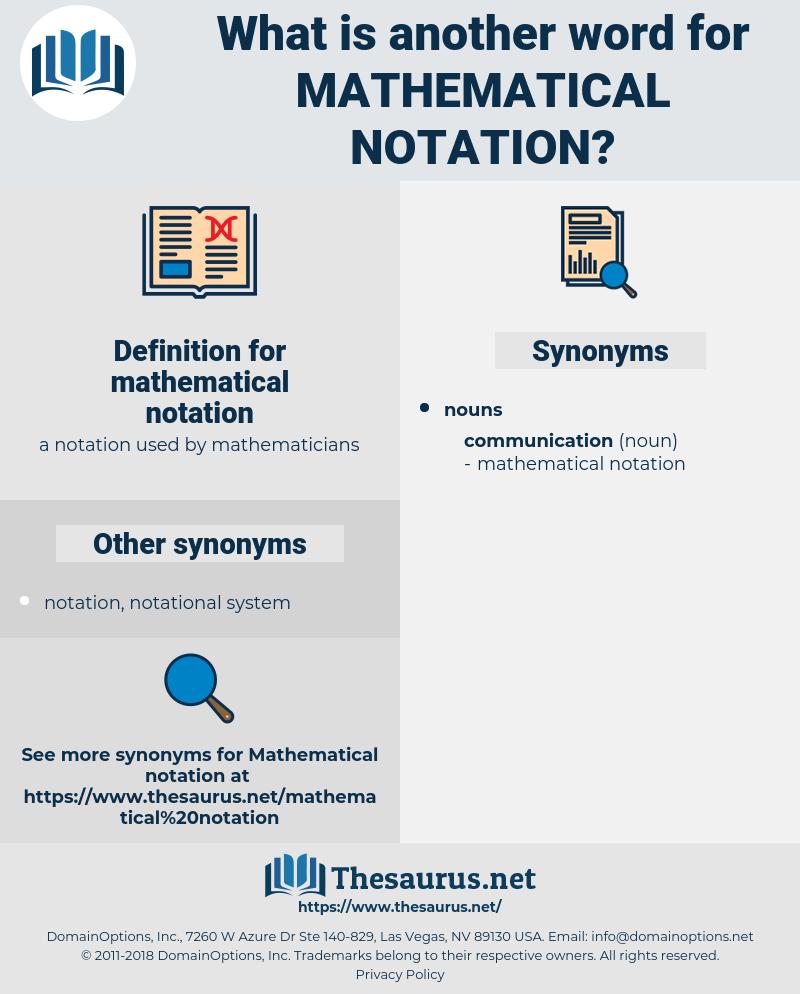 mathematical notation, synonym mathematical notation, another word for mathematical notation, words like mathematical notation, thesaurus mathematical notation