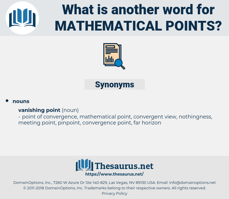 mathematical points, synonym mathematical points, another word for mathematical points, words like mathematical points, thesaurus mathematical points