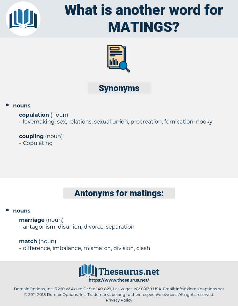 matings, synonym matings, another word for matings, words like matings, thesaurus matings