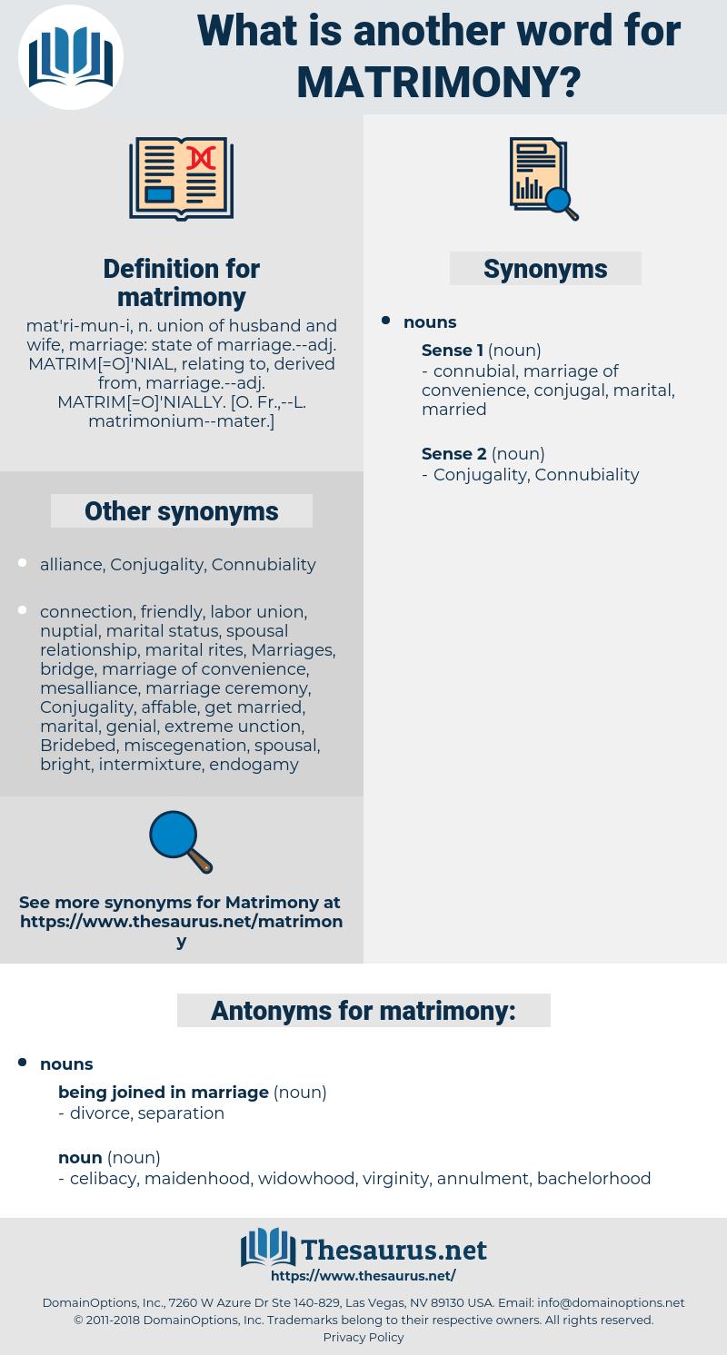 matrimony, synonym matrimony, another word for matrimony, words like matrimony, thesaurus matrimony