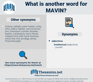 mavin, synonym mavin, another word for mavin, words like mavin, thesaurus mavin