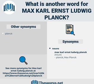 Max Karl Ernst ludwig planck, synonym Max Karl Ernst ludwig planck, another word for Max Karl Ernst ludwig planck, words like Max Karl Ernst ludwig planck, thesaurus Max Karl Ernst ludwig planck