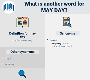 may day, synonym may day, another word for may day, words like may day, thesaurus may day