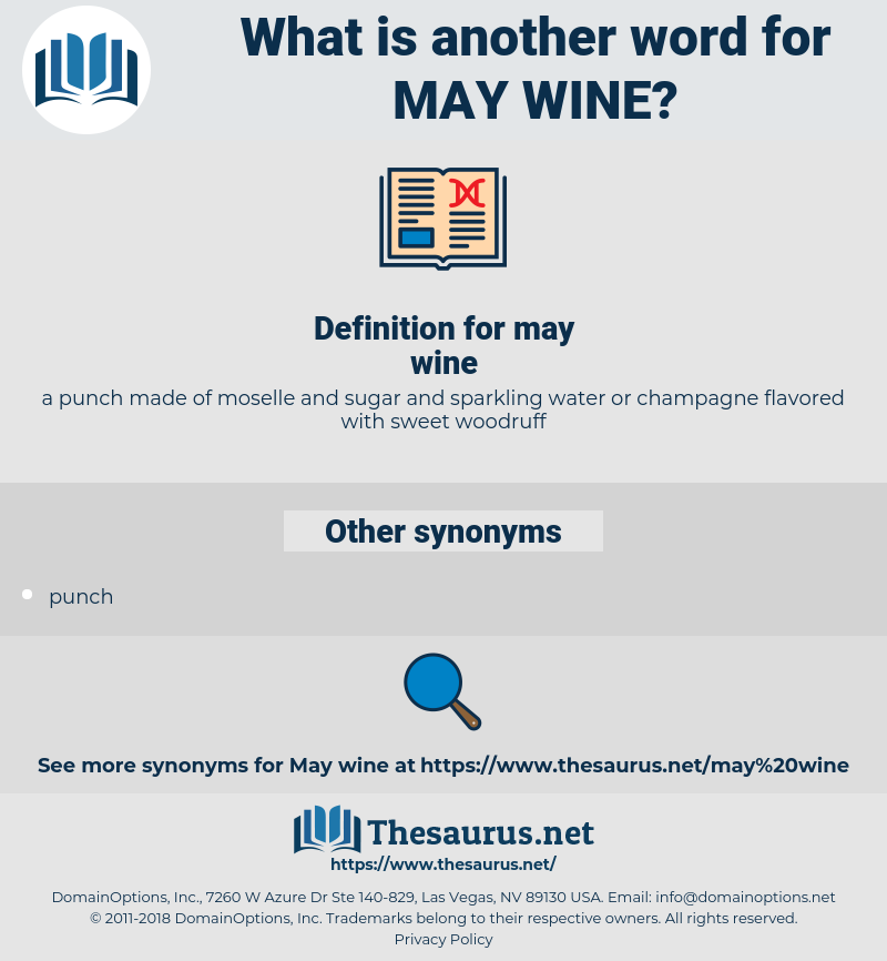 may wine, synonym may wine, another word for may wine, words like may wine, thesaurus may wine