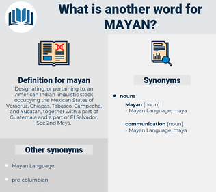 mayan, synonym mayan, another word for mayan, words like mayan, thesaurus mayan