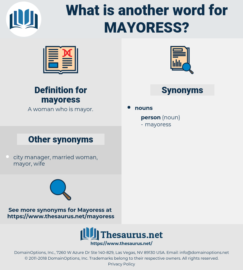 mayoress, synonym mayoress, another word for mayoress, words like mayoress, thesaurus mayoress