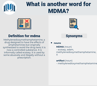 mdma, synonym mdma, another word for mdma, words like mdma, thesaurus mdma