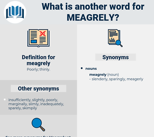 meagrely, synonym meagrely, another word for meagrely, words like meagrely, thesaurus meagrely