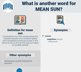 mean sun, synonym mean sun, another word for mean sun, words like mean sun, thesaurus mean sun