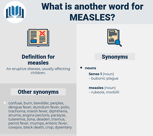 measles, synonym measles, another word for measles, words like measles, thesaurus measles