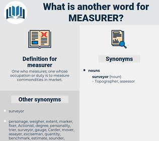 measurer, synonym measurer, another word for measurer, words like measurer, thesaurus measurer