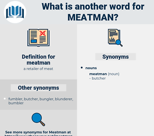 meatman, synonym meatman, another word for meatman, words like meatman, thesaurus meatman