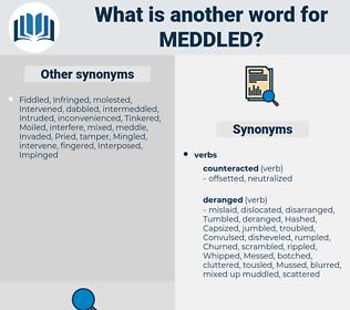 Meddled, synonym Meddled, another word for Meddled, words like Meddled, thesaurus Meddled