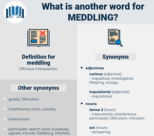 meddling, synonym meddling, another word for meddling, words like meddling, thesaurus meddling