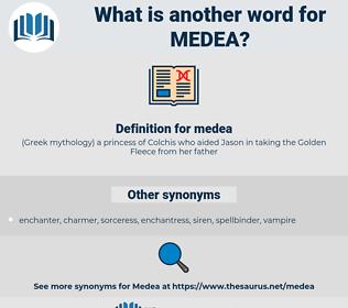 medea, synonym medea, another word for medea, words like medea, thesaurus medea