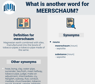 meerschaum, synonym meerschaum, another word for meerschaum, words like meerschaum, thesaurus meerschaum