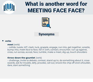 meeting face face, synonym meeting face face, another word for meeting face face, words like meeting face face, thesaurus meeting face face