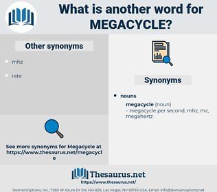 megacycle, synonym megacycle, another word for megacycle, words like megacycle, thesaurus megacycle