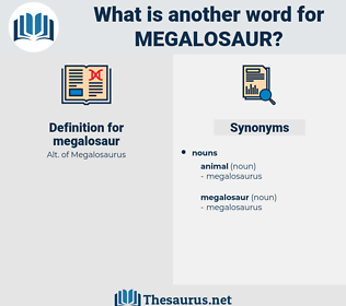 megalosaur, synonym megalosaur, another word for megalosaur, words like megalosaur, thesaurus megalosaur