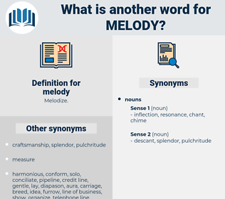 melody, synonym melody, another word for melody, words like melody, thesaurus melody