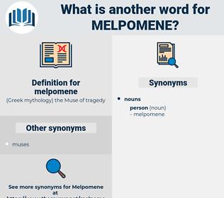melpomene, synonym melpomene, another word for melpomene, words like melpomene, thesaurus melpomene