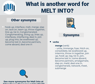 melt into, synonym melt into, another word for melt into, words like melt into, thesaurus melt into
