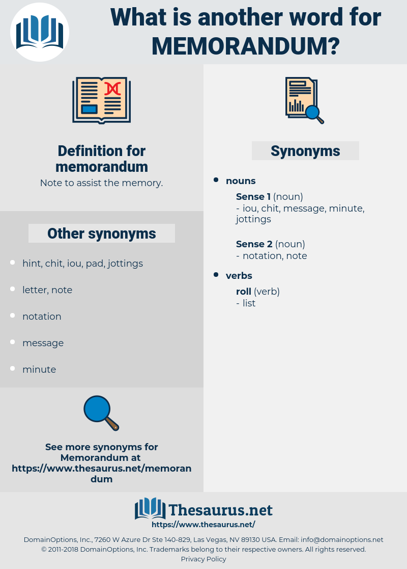 memorandum, synonym memorandum, another word for memorandum, words like memorandum, thesaurus memorandum