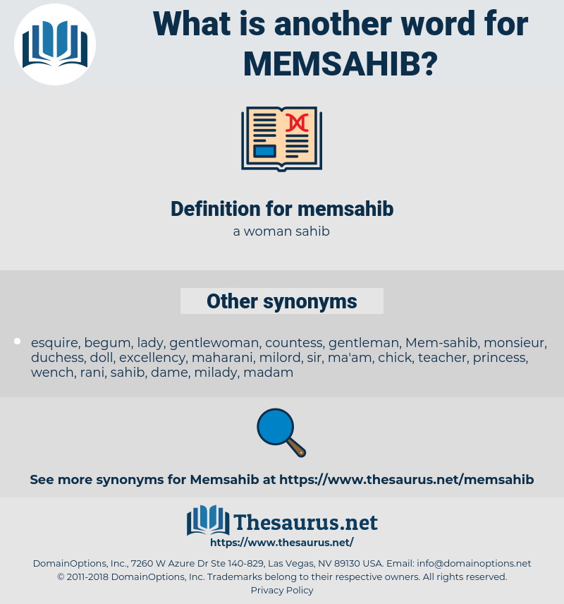 memsahib, synonym memsahib, another word for memsahib, words like memsahib, thesaurus memsahib