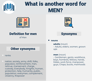 men, synonym men, another word for men, words like men, thesaurus men
